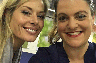 Vaya at Madeleine West's book reading