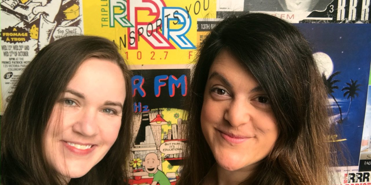 Kate & Vaya on Dave Graney's Radio Show