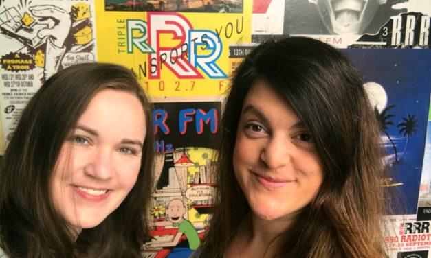Kate & Vaya on Dave Graney's Radio Show