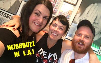 NEIGHBUZZ IN L.A. w/ APRIL RICHARDSON & GARETH REYNOLDS